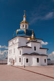 Church in Abalak Znamenski Monastery. Siberia. Rus Royalty Free Stock Image