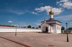 Church in Abalak Znamenski Monastery. Siberia. Rus Royalty Free Stock Photography