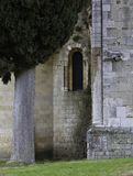 Church / Abbey of Sant Antimo in Montalcino Tuscany Italy royalty free stock images