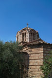 Church in Acropolis Royalty Free Stock Images