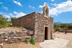 Church of Agia Ekaterini on the island of Crete, Greece. Stock Photography