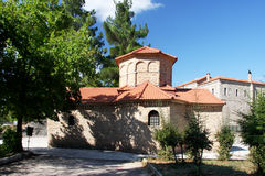 Church of Agia Lavra at Kalavryta village. In Greece stock photos