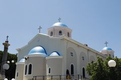 The church of Agia Paraskevi Stock Photography