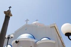 The church of Agia Paraskevi Stock Photo