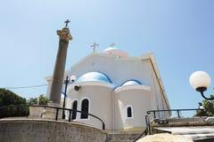 The church of Agia Paraskevi Royalty Free Stock Photos