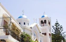 The church of Agia Paraskevi Stock Photos