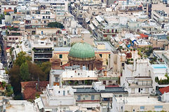 Church of Agios Dionisios Areopagitish in Athens Royalty Free Stock Photography