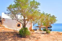 Church Agios Georgios Sarantaris. Stock Image