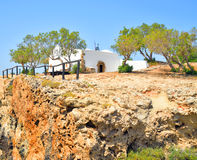 Church Agios Georgios Sarantaris. Royalty Free Stock Photography