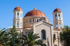Church of Agios Grigorios Palamas Royalty Free Stock Photos