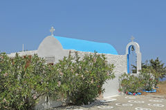 Church Agios Ioannis on the island Astypalaia, Greece Stock Photo