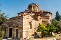 Church Agios Nikolaos Ragavas Royalty Free Stock Photography
