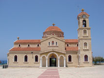 Church Agios Raphael Cyprus Stock Photos