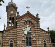 Church of  Agua de Dios Cundinamarca (Colombia). Church Colombia Town Stock Photo