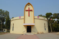 Church at Ahmedabad Stock Images