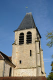 Church of Aincourt in Val d Oise Stock Image