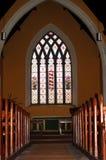 Church Aisle stock image