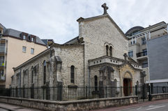 Church in Aix-Les-Bains Royalty Free Stock Image