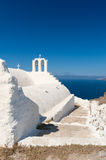 Church in Akrotiri on Santorini Greece Stock Photo