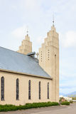 The Church Akureyri Stock Photography
