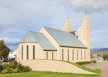 The Church Akureyri Royalty Free Stock Photo