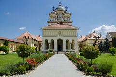 Church in Alba Iulia Royalty Free Stock Image
