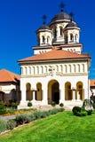 Church in Alba Iulia, Romania stock photos