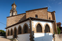 Church in Alcoz Stock Photography
