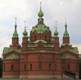 Church of Alexander Nevsky in Chelyabinsk. Russia Royalty Free Stock Images