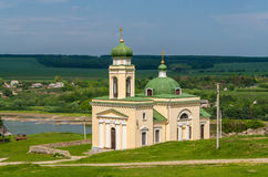 Church of Alexander Nevsky in Khotyn Stock Images
