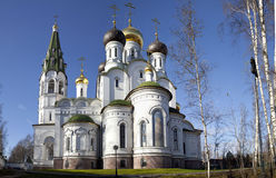Church of Alexander Nevsky, Knyazhe ozero. Moscow Region, Russia Royalty Free Stock Image