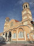 Church in Alexandroupolis city in Greece. A Church in Alexandroupolis city of Greece Stock Photos