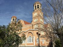 Church in Alexandroupolis city in Greece. A Church in Alexandroupolis city of Greece Royalty Free Stock Images