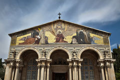 Church of All Nations - Gethsemane Stock Photos