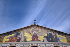 Church of All Nations - Gethsemane. The Church of All Nations, also known as the Church or Basilica of the Agony, is a Roman Catholic church located on the Mount Stock Photography