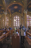 The Church of All Nations in Gethsemane garden. Israel. Stock Photo