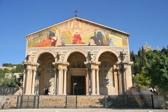 Church of All Nations, Jerusalem, Israel. Stock Images
