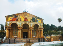 Church of All Nations in Jerusalem Royalty Free Stock Image