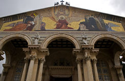 Church of All Nations, Jerusalem, Israel Royalty Free Stock Photography