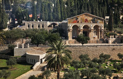 Church of All Nations in Jerusalem. Israel Royalty Free Stock Photos