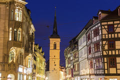 The Church of all Saints in Erfurt in Germany Royalty Free Stock Images