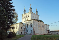 Church of All Saints. Goritsky Monastery of Dormition in the city of Pereslav-Zalessky. Russia. Church of All Saints. Goritsky Monastery of Dormition in the city Royalty Free Stock Photo