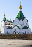 Church of All Saints Russian in Novokosino, Moscow Stock Images