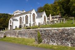Church of All Saints, Selworthy Stock Photos