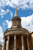The Church of All Souls Langham Place in London. Stock Photos