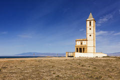 Church of the Almadabra, Almeria province, Spain Stock Photo