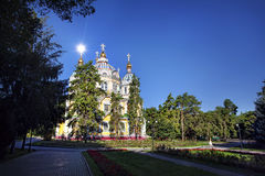 Church in Almaty Stock Image