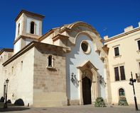 Church, Almeria, Andalusia, Spain. Royalty Free Stock Photo