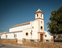 Church in almeria Stock Image