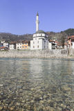 Church along the Neretva river Royalty Free Stock Images